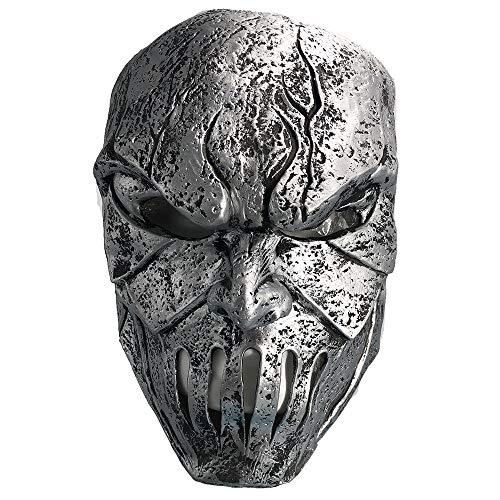 Premium Horror Mask Latex Mask Clothing Accessories Horror Scary Monster Deluxe Evil Devil Sliver