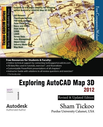 Download Exploring AutoCAD Map 3D, 2012 pdf