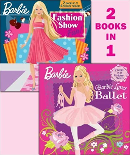 Book Barbie Loves Ballet/Fashion Show Fun! (Barbie) (Deluxe Pictureback) by Golden Books (2009-05-12)