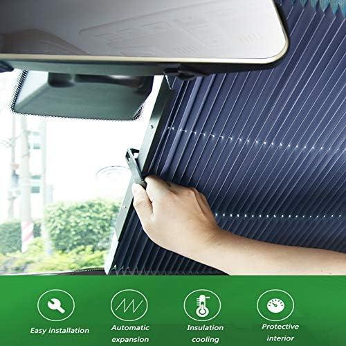 Amazon.es: El parasol del auto se puede cortar y doblar fácilmente ...