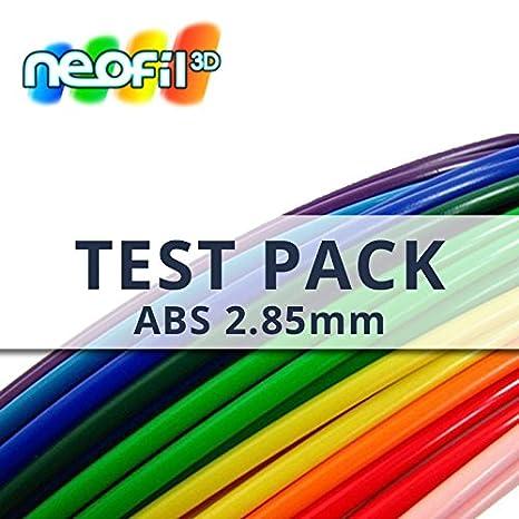 neofil3d abs285mmix0250 W ABS Filamento para impresora 3d, Test ...