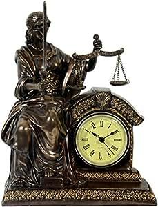 Justitia Figura de bronce 33cm Diosa de la Justicia Abogado BGB