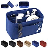 [New Style] Luxury Felt Purse Organizer, Bag Organizer, Handbag Tote Bag Insert Organizer for Speedy Neverfull Longchamp, 3 Sizes