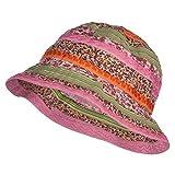 Jeanne Simmons Girl's Calico Striped Bucket Hat - Multi OSFM