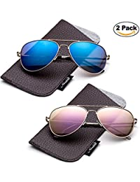 Newbee Fashion -Polarized Kids Teens Juniors Avaitor...