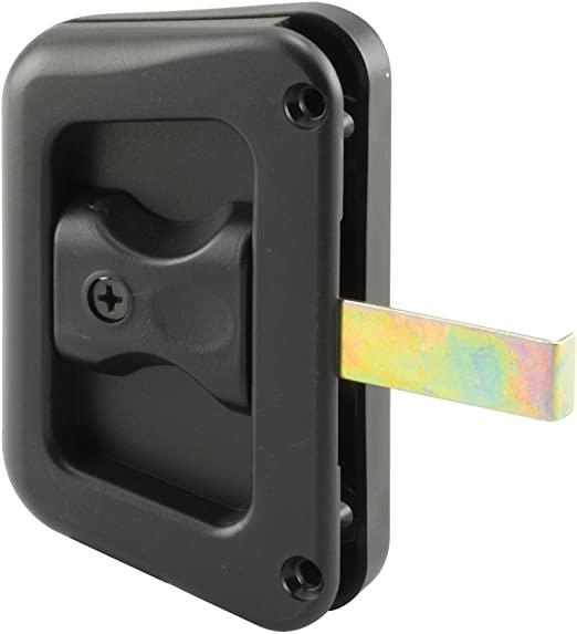 Black Plastic Prime-Line Products A 111 Sliding Screen Door Pulls
