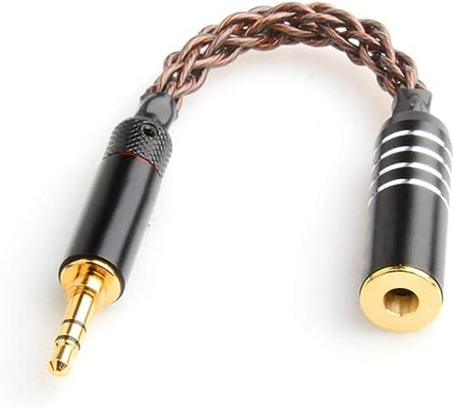 Okcsc 4 4 Mm Auf 3 5 Mm Stereo Audiokabel Stecker Elektronik