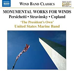 Monumental Works for Winds - S