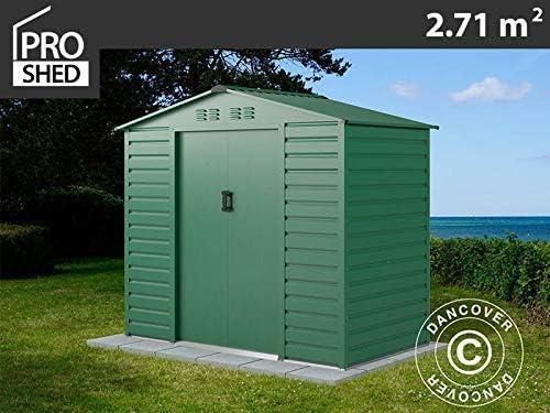 Dancover Caseta de Jardin 2, 13x1, 27x1, 90m ProShed®, Verde: Amazon.es: Jardín