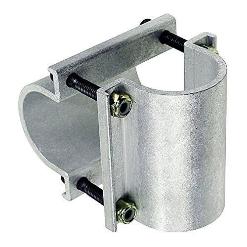 Mega-Gridlock, Aluminum Finish Minimum Size: 1.25' pipe, 1.66' Outer Diameter pipe Aluminum Finish Minimum Size: 1.25 pipe 1.66 Outer Diameter pipe The Light Source MGM