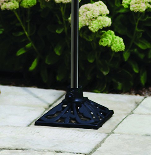 TIKI Brand Cast Iron Torch Stand, Black, 9.1L x 9.1W x 4.8H -Inches by Tiki (Image #3)
