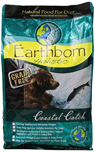 Earthborn Holistic Dry Dog Food - Coastal Catch, 5...