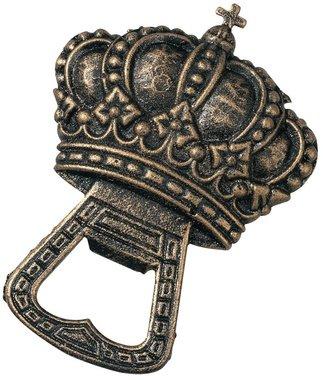 The Royal Bottle Opener Cast Iron English Crown Sculpture (The Digital - Crown Sculpture Iron