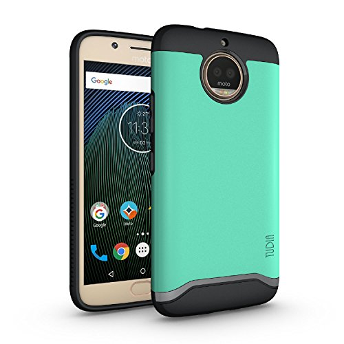 TUDIA Moto G5S Plus Case, Slim-Fit Heavy Duty [Merge] Extreme Protection/Rugged but Slim Dual Layer Case for Motorola Moto G5S Plus (Mint) (The Best Citibank Credit Card)