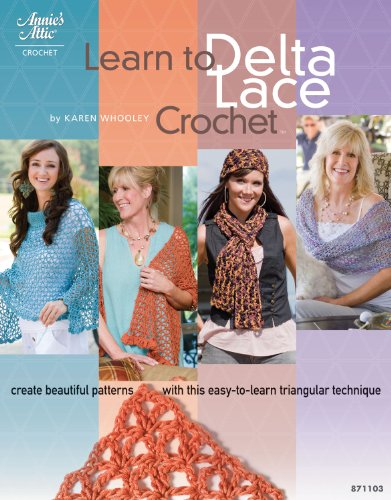 Learn to Delta Lace Crochet (Delta Crochet)