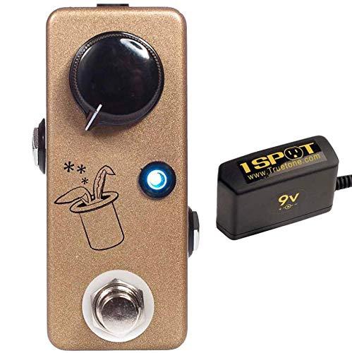 Guitar Tone Enhancer - JHS Prestige Buffer, Boost & Tone Enhancer Bundle w/Truetone 1 Spot Space Sacing 9v Adapter