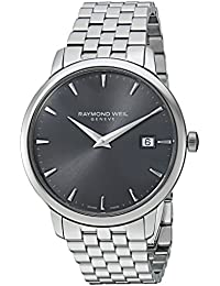 Toccata Swiss Quartz and Stainless Steel Casual Watch, Color:Silver-Toned