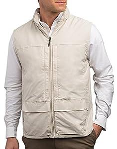 SCOTTeVEST Men's Q.U.E.S.T. Vest - 42 Pockets - Photography, Travel Vest