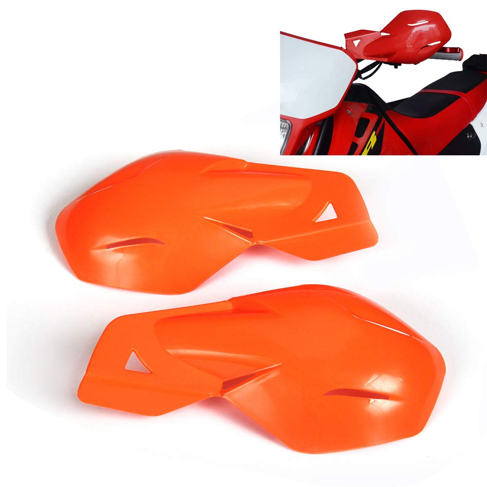 Orange Un Xin Moto Prot/ège-Mains gardes /à la Main avec syst/ème de Fixation Universel 7//20,3/cm et 1/1//20,3/cm pour KTM MX EGS SMR 50/65/85/125/150/Enduro Dirt Bike Supermoto Racing Moto Sport