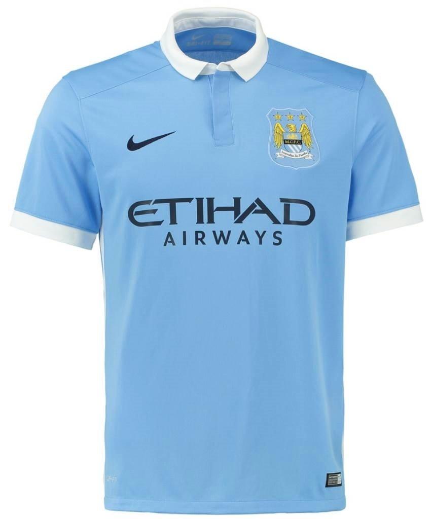 NIKE(ナイキ) マンチェスターシティFC ホームユニフォーム 2015/16 Manchester City FC Home Shirt 2015/16 [並行輸入品] B00ZQODG74 インポートXL|25 フェルナンジーニョ / Fernandinho  インポートXL