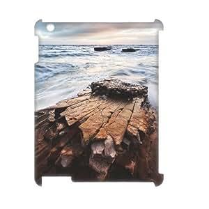 Ipad2,3,4 Rock 3D Art Print Design Phone Back Case Hard Shell Protection LK018314