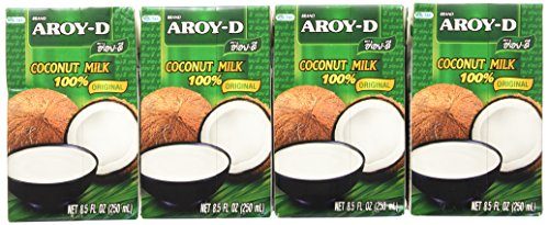 Aroy-d Coconut Milk 100% Original Net 8.5 Oz.(pack of 12)