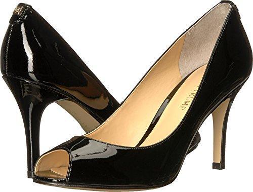 Ivanka Trump Womens Cleo 5 Black Patent 7 M