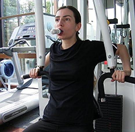 guoxiaolia Dispositivo per lallenamento della respirazione Sistema di misurazione del respiro Allenamento a spirometria Attrezzatura per Esercizi polmonari di Mezza et/à e Anziani