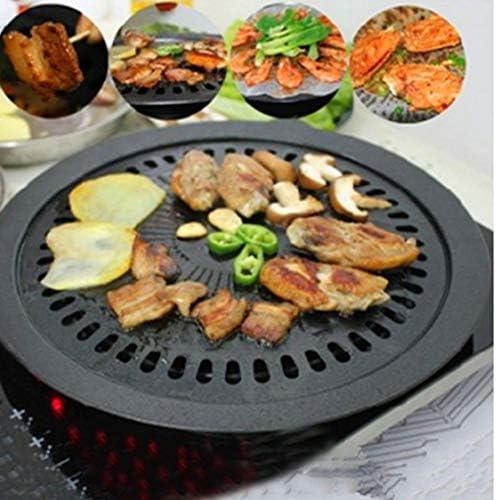 Dynamovolition Coréen Barbecue Plat Antiadhésif Plaque De Cuisson Carte Four Four Barbecue Plaque Maison sans Fumée Plaque De Cuisson Antiadhésive Barbecue Plaque