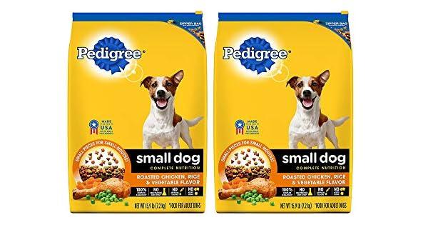 Amazoncom Pedigree Small Breed Adult Dry Dog Food Chicken 159