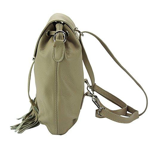 Market 9119 Bougainvillea Vachette fonctionel En Taupe Veritable Dos Florence Cuir De Clair Sac Multi À Gris Leather 0HxOq5
