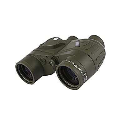 Ailin Home- 7x50C Télescope Militaire Standard Compas Nautique + Rangement + Imperméable + Vision Nocturne Avec Coordonnées