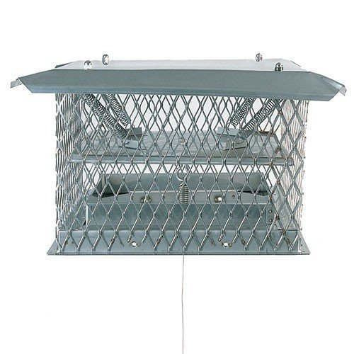 Chimney 34615 13 x 13 Inch Chim-a-lator Deluxe Damper 11 Inch High with 30 Ft Cable by Copperfield Chimney Supply
