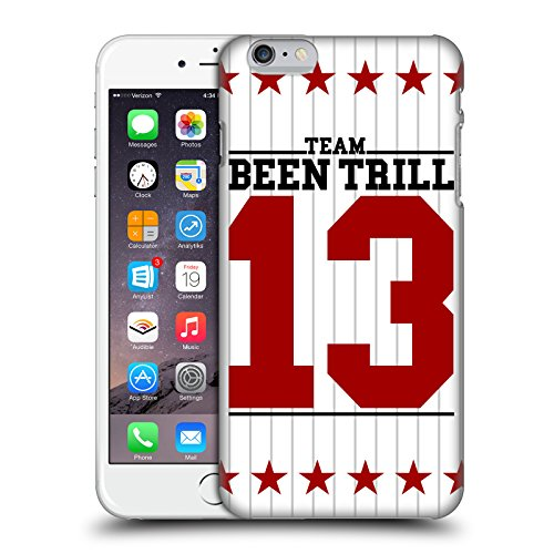 Official Been Trill Star Stripe Jersey Hard Back Case for Apple iPhone 6 Plus / 6s Plus
