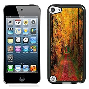 Designed For SamSung Galaxy S4 Mini Case Cover Autumn Woods and Road Phone