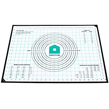 Amazon Com Jumbo Pastry Mat With Measurements 20 X 30