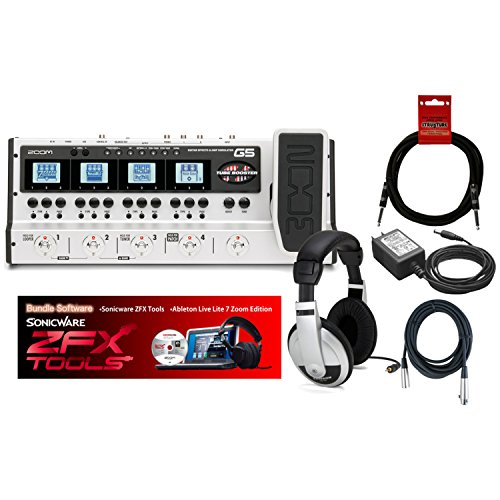 Zoom G5 USB Guitar Effects Console (with Z Pedal & Boost