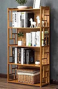Bamboo Antique Style Cabinet Book Shelf Storage Choice Elegant