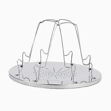 Ouken Plegable 4 rebanadas tostadora para hornillos de Camping al Aire Libre