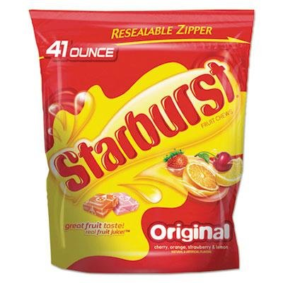 "Starburst – 2 Pack – Fruit-Chew Candy Original Assortment 41Oz Bag ""Product Category: Breakroom And Janitorial/Beverages & Snack Foods"""