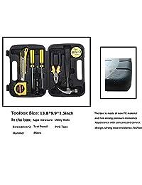 LIANXIN Kit de emergencia para coche Kit de primeros auxilios de rescate de carretera para kit de seguridad de automóviles, cable de puente (122 piezas), kit de herramientas multiusos, cuerda de tracción, etc. El producto definitivo está integrado para