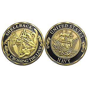 zcccom Navy Veteran Challenge Coin United States Department of The Defence from zcccom