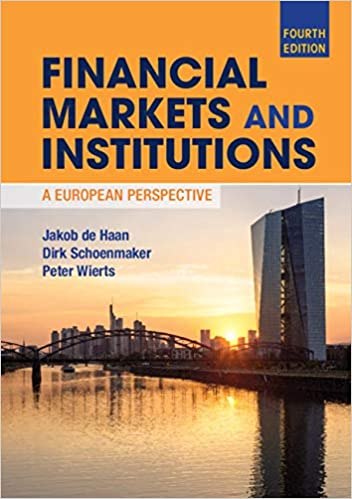 Financial Markets and Institutions: A European Perspective, 4th Edition - Original PDF