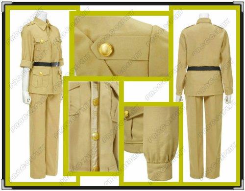 (Procosplay)axis Powers Hetalia South Italy Cosplay Costume