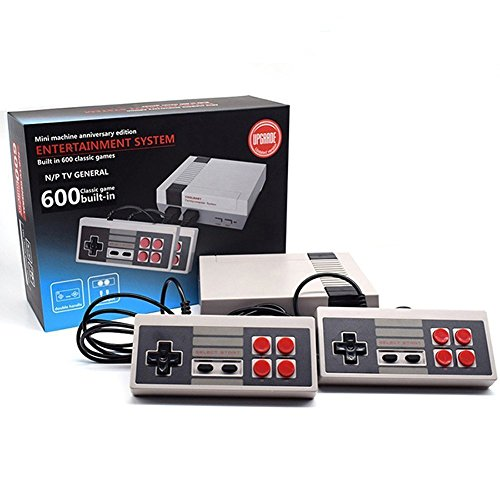 Price comparison product image New Retro Classic Mini Video Game Machine 600 Games Inside Childhood Dual Control Game Console