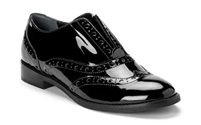 37430abf6a8 Vionic Women s Wise Hadley Oxford Black Patent 5 ...