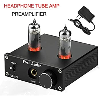 Sabaj PHA3 Vacuum Tube Headphone Amplifier 2X6J9 Low Ground Noise Integrated Stereo Amp Audio HiFi Output Protection for Headphone