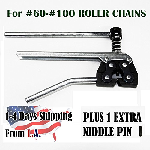 60 Chain Breaker (Roller chain Breaker Cutter for Chain Size 60, 80 and)