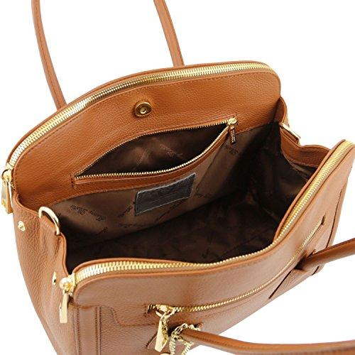 El Envío Libre Para La Venta Tuscany Leather - TL KEYLUCK - Borsa a mano media in pelle morbida - TL141285 (Rosso) Rosso Venta Precio Más Bajo Pagar Con Paypal J58iATDT