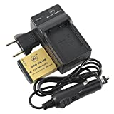 QIAOJINLIN Backup Energy Travel Kit for Panasonic DMW-BLH7 DMW-BLH7E DMW-BLH7PP DMW-BLH7GK Lumix DMC-GM1 DMC-GM1D DMC-GM1K DMC-GM1KD DMC-GM1KEB DMC-GM1KK DMC-GM1KS Digital Camera